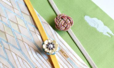 おうち時間を使って、なごや帯に合う帯留を手作りしよう